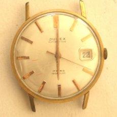 Relojes automáticos: JUPEX CABALLERO, FUNCIONA, AUTOMÁTICO, CALENDARIO. MED. 3,2 CM SIN CONTAR CORONA. Lote 195359867