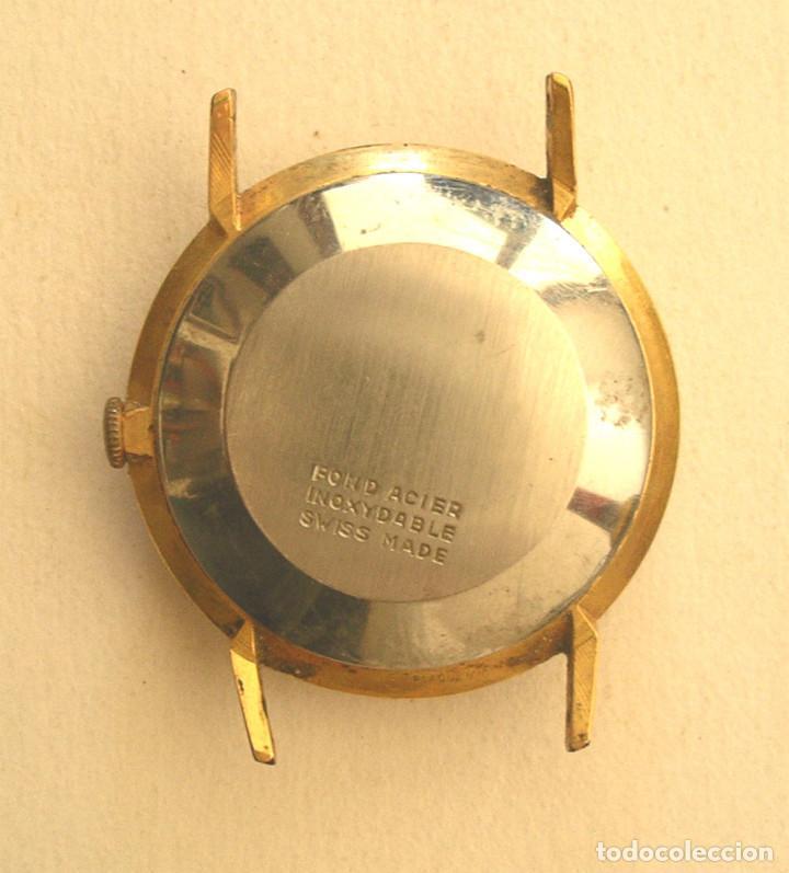 Relojes automáticos: Jupex Caballero, funciona, automático, calendario. Med. 3,2 cm sin contar corona - Foto 2 - 195359867