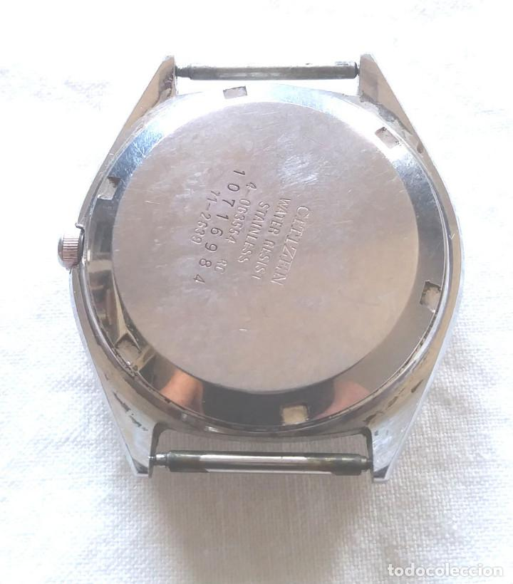 Relojes automáticos: Citizen automático Calendario 25 jewels incabloc Swiss Vintage. Med. 36 mm - Foto 2 - 195359918