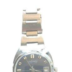 Relojes automáticos: RELOJ LONLAY AUTOMÁTICO, CALENDARIO, FUNCIONA. MED. 35 MM SIN CONTAR CORONA. Lote 195360006