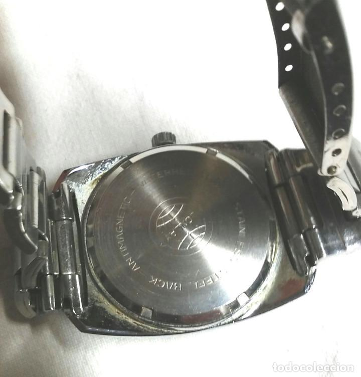 Relojes automáticos: Reloj Lonlay automático, calendario, funciona. Med. 35 mm sin contar corona - Foto 2 - 195360006