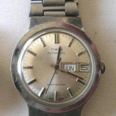 Relojes automáticos: RELOJ PULSERA CABALLERO TIMEX, AUTOMÁTICO CON CALENDARIO, FUNCIONA. MED. 3,6 CM. Lote 195360672