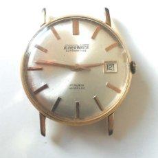 Relojes automáticos: ALFHER WATCH AUTOMÁTICO CALENDARIO, MAQUINARIA SUIZA, FUNCIONA. MED. 35 MM. Lote 195360707