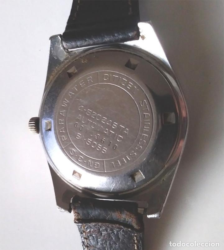 Relojes automáticos: Citizen Seven Star de Luxe, automático, calendario y dia de la semana, funciona - Foto 2 - 195360820