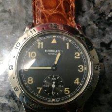 Relojes automáticos: HAMILTON AÑOS 90. TIPO MILITAR. Lote 195426082