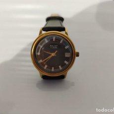 Relojes automáticos: RELOJ RUSO POLJOT URSS- ORO CHAPADO AU , 17 RUBÍES-AUTOMATICO. Lote 195477197