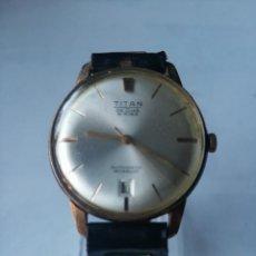 Relojes automáticos: RELOJ AUTOMÁTICO TITAN DE LUXE 21 RUBIS.. Lote 195948871