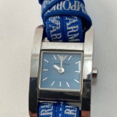 Relojes automáticos: RE-46. RELOJ EMPORIO ARMANI DE MUJER. MEDIADOS S.XX.. Lote 195954420