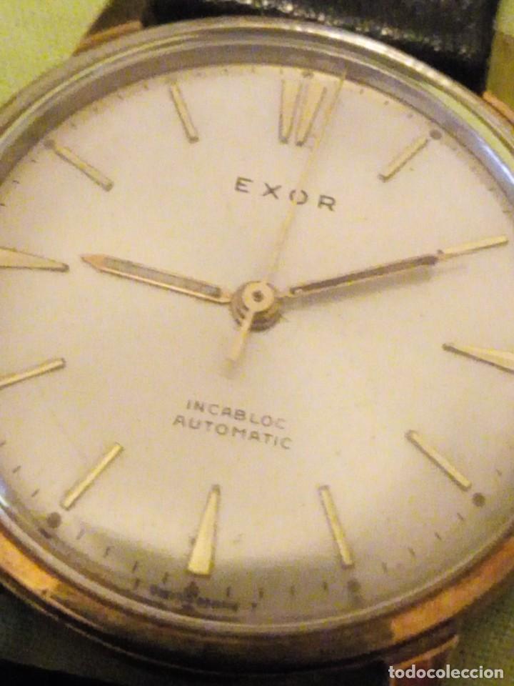 RELOJ EXOR AUTOMATIC INCABLOC SWISSE MADE 8 REXOR)AÑOS 50/60 (Relojes - Relojes Automáticos)