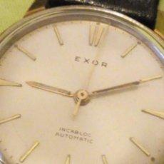 Relojes automáticos: RELOJ EXOR AUTOMATIC INCABLOC SWISSE MADE 8 REXOR)AÑOS 50/60. Lote 196123350