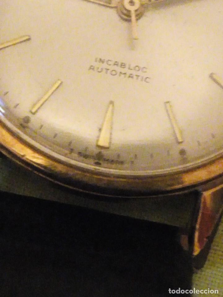 Relojes automáticos: reloj exor automatic incabloc swisse made 8 REXOR)AÑOS 50/60 - Foto 5 - 196123350