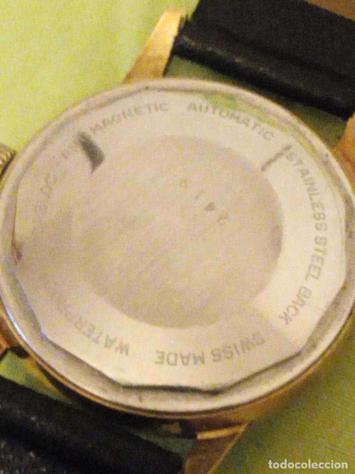 Relojes automáticos: reloj exor automatic incabloc swisse made 8 REXOR)AÑOS 50/60 - Foto 6 - 196123350