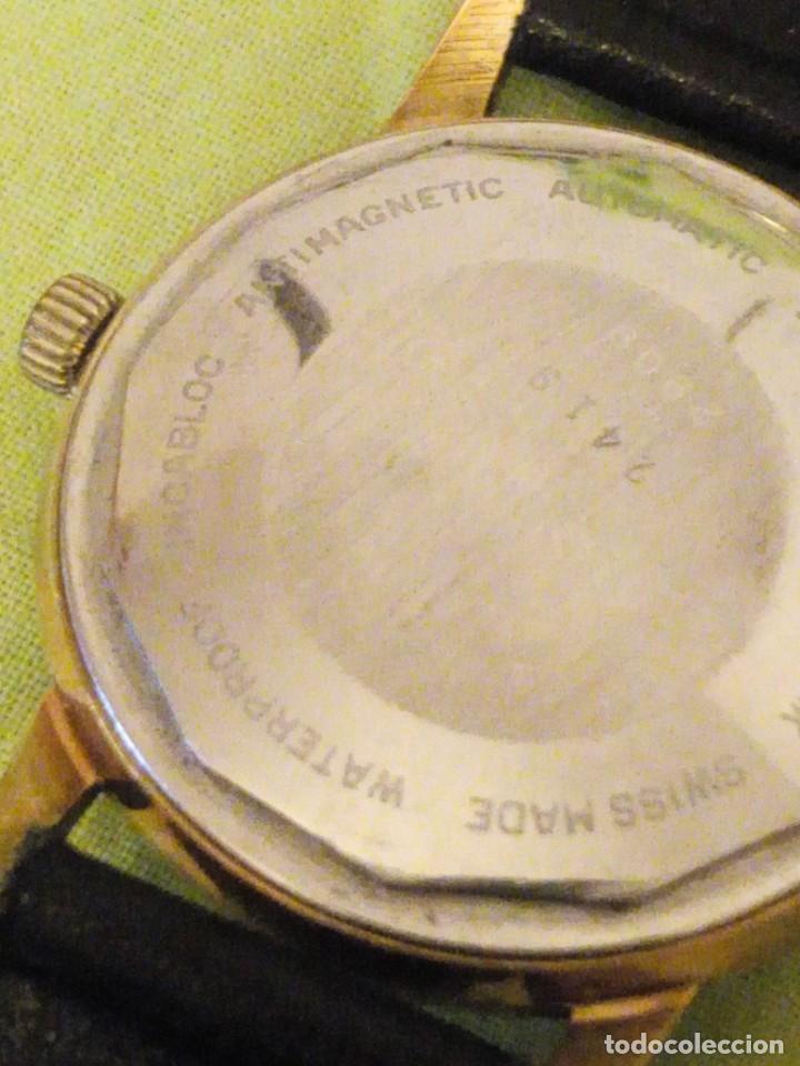 Relojes automáticos: reloj exor automatic incabloc swisse made 8 REXOR)AÑOS 50/60 - Foto 7 - 196123350