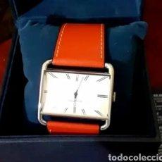 Relojes automáticos: RELOJ NAUTICA VINTAGE NUEVO EN CAJA. DE MUJER CORREA PIEL ROJO. MODELO: A08583L. Lote 196938172