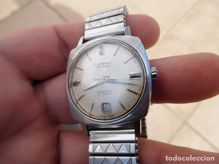 Relojes automáticos: Reloj automático de la marca Cortebert Cal. 286 - ETA 2472 años 60 - Foto 3 - 197040727