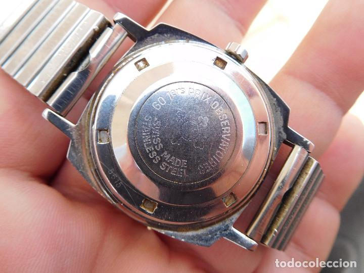 Relojes automáticos: Reloj automático de la marca Cortebert Cal. 286 - ETA 2472 años 60 - Foto 10 - 197040727