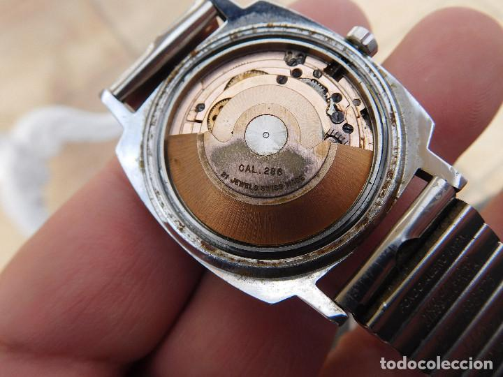 Relojes automáticos: Reloj automático de la marca Cortebert Cal. 286 - ETA 2472 años 60 - Foto 15 - 197040727