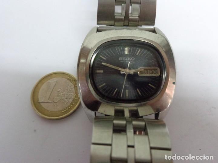 ANTIGUO AÑOS 60 RARO BONITO RELOJ CABALLERO AUTOMATICO SEIKO FUNCIONANDO BUEN ESTADO (Relojes - Relojes Automáticos)