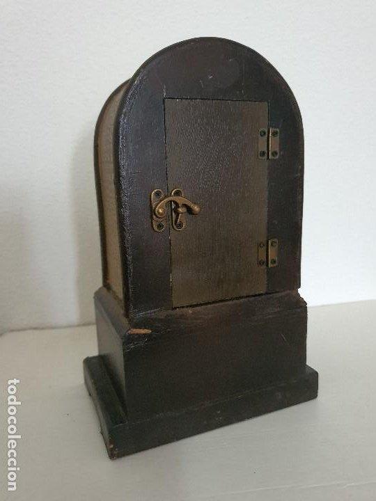 Relojes automáticos: RELOJ MADERA CON CAJON - Foto 4 - 197720505