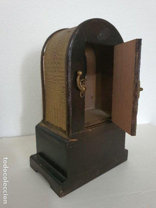 Relojes automáticos: RELOJ MADERA CON CAJON - Foto 5 - 197720505