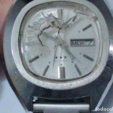 Relojes automáticos: RELOJ CITIZEN AUTOMATIC. 21 JEWEL. TRES ESTRELLAS.. Lote 197807585