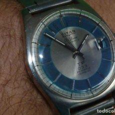 Relojes automáticos: RELOJ TITAN TP033 DIVER COMPRESSOR CALIBRE AS 1903 AUTOMATICO 25 RUBIS AÑOS 60. Lote 198792630