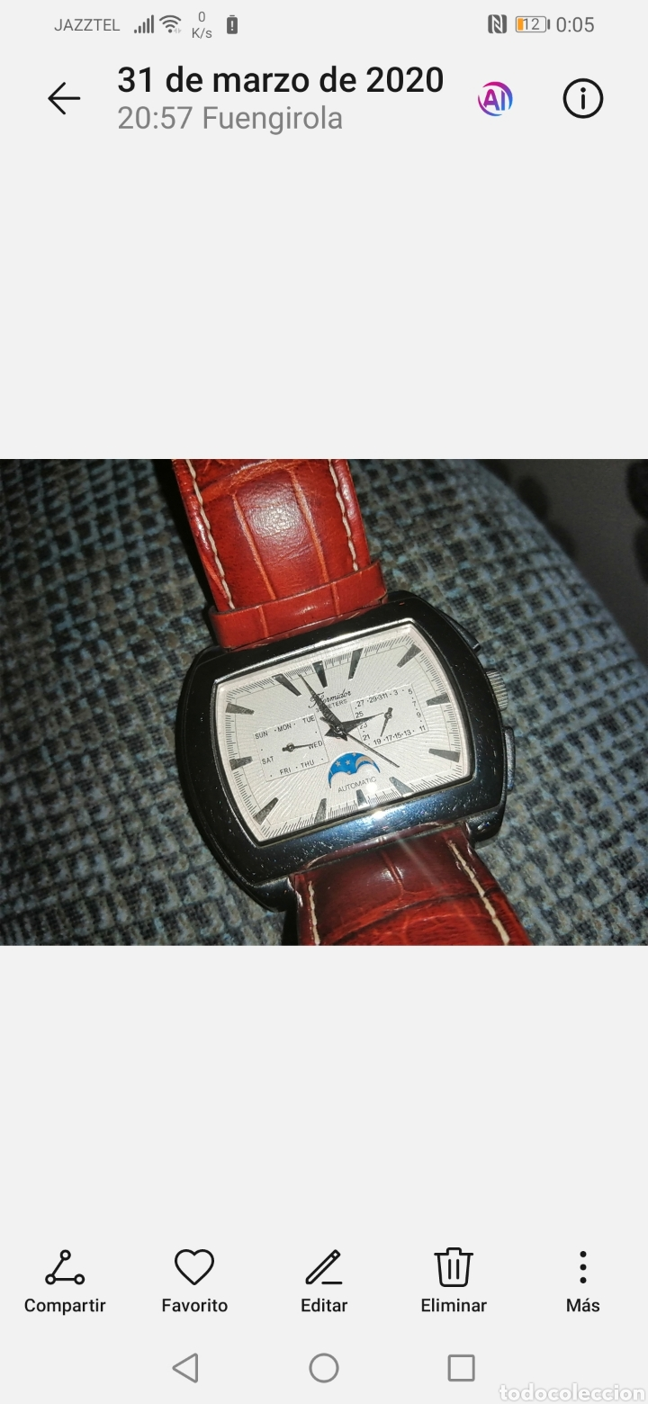 Relojes automáticos: Reloj automático Thermidor. - Foto 7 - 198858715