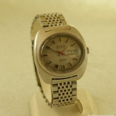 Relojes automáticos: EXACTUS AUTOMATICO DOBLE CALENDARIO CALIBRE ETA ACERO FUNCIONANDO. Lote 198899407