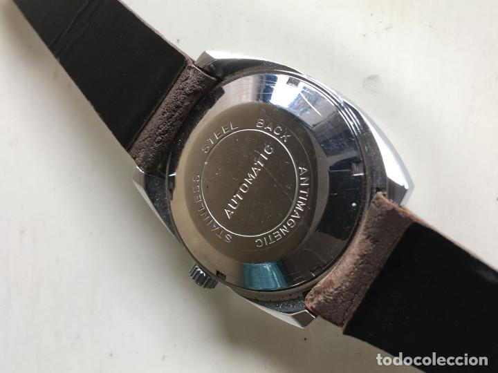 Relojes automáticos: RELOJ AUTOMATICO DE PULSERA PHATON DE ACERO INOXIDABLE STAINLESS STEEL ANTIMAGNETICO SIN USO - Foto 6 - 53145847