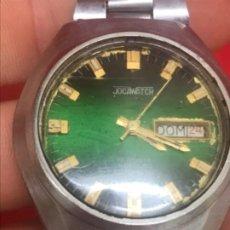 Relojes automáticos: ANTIGUO RELOJ CABALLERO JOCAWATCH 17 RUBIS INCABLOC AUTOMATICO CALENDARIO RELOJ SUIZO NUMERADO . Lote 199177937