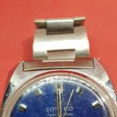 Relojes automáticos: RELOJ SONIKO SUPER DELUXE WATERPROOF ANTIMAGNETIC. Lote 200018758