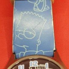 Relojes automáticos: RELOJ SIMPSONS PULSERA . Lote 200019557