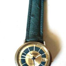Relojes automáticos: RELOJ SUIZO VASSER 25 RUBIS AUTOMATICO FUNCIONANDO. Lote 200288092