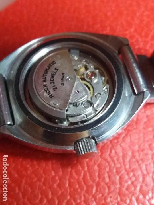 Relojes automáticos: RELOJ DE MUJER RICOH AUTOMATIC 21 JEWERS. - Foto 7 - 200347730