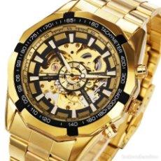 Relojes automáticos: RELOJ DE HOMBRE AUTOMÁTICO. RELOJ DE PULSERA DE ACERO.. Lote 200737082