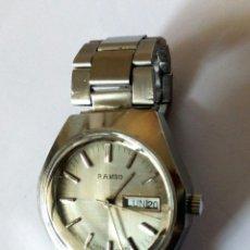 Relojes automáticos: RELOJ SUIZO AUTOMATICO FUNCIONANDO.. Lote 201233551