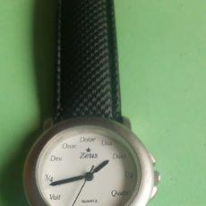 Relojes automáticos: RELOJ ZEUS BACH Z-954L SIN USO. Lote 201235536