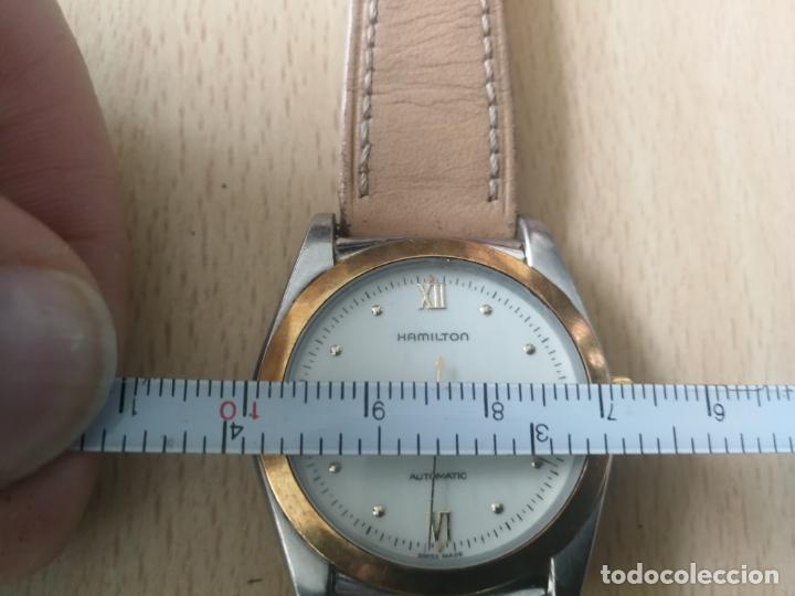 Relojes automáticos: ANTIGUO RELOJ HAMILTON AUTOMATICO BISEL ORO 18 K. FUNCIONANDO Nº SERIE 891 SWIS MADE - Foto 11 - 203440116