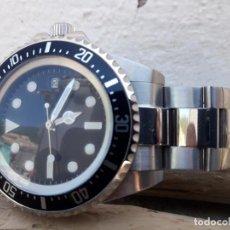 Relojes automáticos: RELOJ AUTOMATICO SUBMARINER ARTESANAL NUEVO .. Lote 204779521