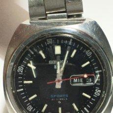 Relojes automáticos: RELOJ SEIKO N5 SPORTS AUTOMATIC CORONA GIRATORIA MODELO 4D4597 MUY BUSCADO COLECCIONISTAS. Lote 207006713