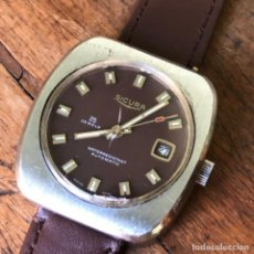 Relojes automáticos: RELOJ AUTOMÁTICO SICURA 25 JOYAS, CAJA DE 38MM. SEGUNDA MARCA DE BREITLING. Lote 207026056