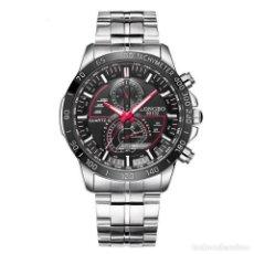 Relojes automáticos: RELOJ DE PULSERA CREATIVO PARA HOMBRE LONGBO. Lote 207251007