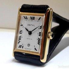 Relojes automáticos: RELOJ VINTAGE DE SEÑORA MARCA ANTAL AÑOS 70 AUTOMÁTICO CALIBRE ETA 2671 Y NUEVO A ESTRENAR. Lote 207764582