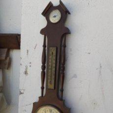 Relojes automáticos: RELOJ BAROMETRO ,TERMOMETRO. Lote 208296678