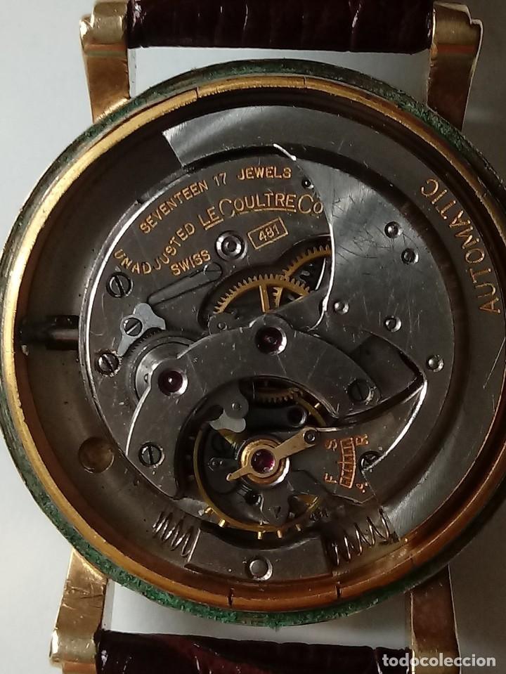 Relojes automáticos: Reloj Lecoultre automatico. - Foto 10 - 206929332