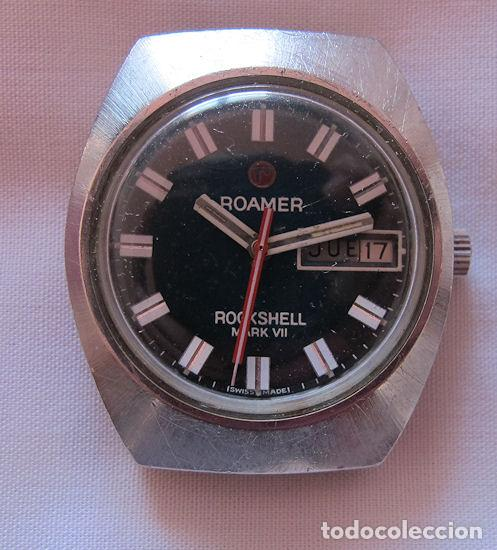 RELOJ AUTOMATICO VINTAGE ROAMER ROCKSHELL MARK VII (Relojes - Relojes Automáticos)