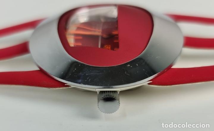 Relojes automáticos: RELOJ SPACEMAN AUTOMATIC. WATERRESISTANT. INCABLOC. SUIZA. 1970 - Foto 2 - 209582897
