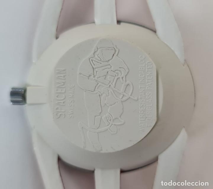 Relojes automáticos: RELOJ SPACEMAN AUTOMATIC. WATERRESISTANT. INCABLOC. SUIZA. 1970 - Foto 3 - 210026901