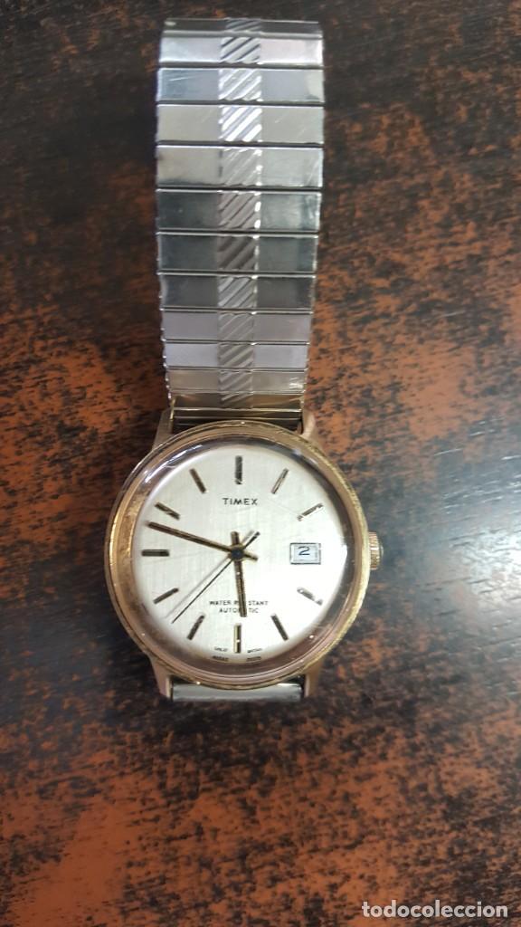 RELOJ TIMEX AUTOMATICO - WATER RESISTANT. FUNCIONA CORRECTAMENTE. BUEN ESTADO. (Relojes - Relojes Automáticos)