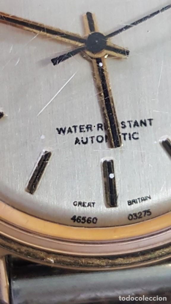 Relojes automáticos: RELOJ TIMEX AUTOMATICO - WATER RESISTANT. FUNCIONA CORRECTAMENTE. BUEN ESTADO. - Foto 3 - 210234150